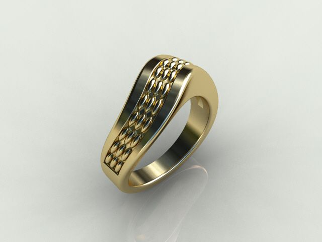 twisted lights ring
